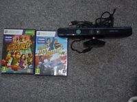 xbox 360 games and kinect.