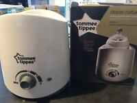 Tommee Tippee Closer to Nature bottle and food warmer