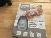 Snuza hero portable breathing monitor x 2 never used £35 each