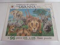Giant animal floor puzzle