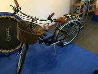 Brand new unused viking ladies bike with basket