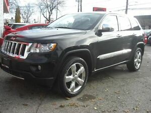 2012 Jeep Grand Cherokee Overland 4WD *Nav / Sunroof / Leather*