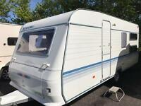 Adria alten 542 U.K. 5 berth 2007 touring caravan