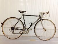 Black Peugeot 10 speed 54 cm Chrome Forks Fully Serviced Excellent Condition Serviced