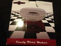 Retro Diner Candy Floss Machine New in box