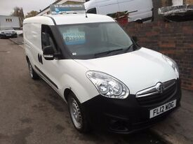 NEW SHAPE VAUXHALL COMBO MAXI VAN 2012 £99 DEPOSIT FOR FINANCE 3999 no vat