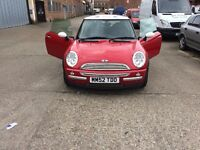 2003 Mini Cooper 1.6petrol, Limited Edition, Immaculate Condition