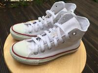 White all star converse uk 3