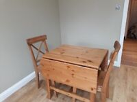 small extendable kitchen dinning table