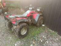 Farm quad Honda big red 4x4