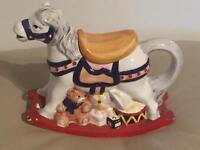Lovely Collectable Rocking Horse Teapot