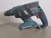 BOSCH GHB 36v BRUSHLESS li-ion SDS drill , BODY ONLY.