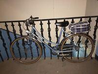 Vintage Raleigh Town Bike