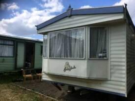 Luxury 2 bed caravan long term rent wellingborough