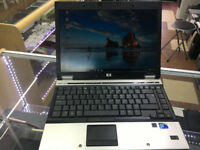 "HP Elitebook 6930p 14.1"" Intel Core 2 Duo 4 GB 250 GB WINDOWS 7 Webcam Laptop/ MS OFFICE"