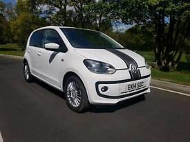 2014 Volkswagen UP! Rock up 1.0L , 5 DOOR HATCHBACK Low mileage only 28000 miles