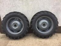 Massey 35 135 wheels suit others NEW TYRES!