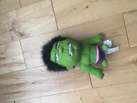 Plush talking hulk