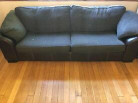 DFS brown Martina sofa