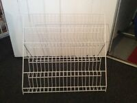 Metal card stand £7