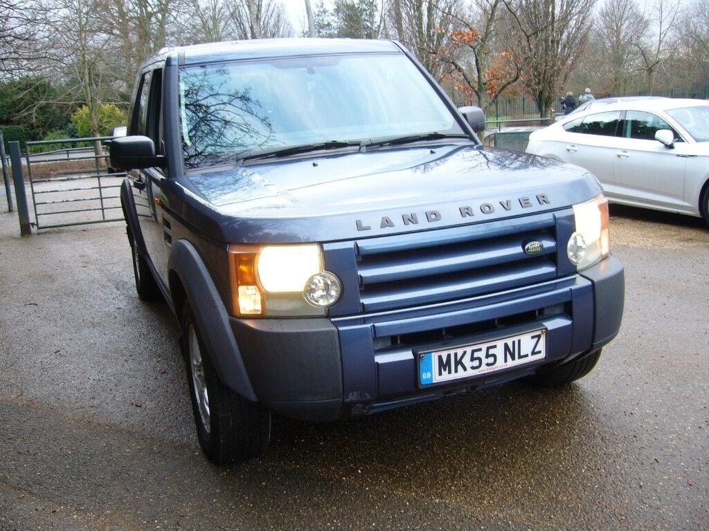 LAND ROVER DISCOVERY 3 TDV6 2005/55 6 SPEED MANUAL BLUE METTALIC