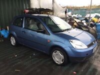 2003 FORD FIESTA DIESEL LONG MOT CAME IN PX TODAY GOOD DRIVER 1400 cc DIESEL SCUFFED CHEAP RUNABOUT
