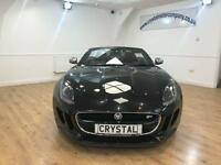 JAGUAR F-TYPE 5.0 V8 S 2d AUTO 495 BHP £12,000 OPTIONAL EX (black) 2013