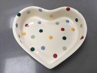 Emma Bridgewater Polka Dot Heart Bakeware
