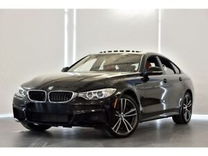 2017 BMW 440i M PERF 1 & 2 / GPS / TOIT OUVRANT / CUIR ROUGE