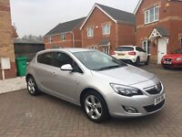 2011 VAUXHALL ASTRA SRI 1.4, LOW MILEAGE 37000, MOT 12 MONTHS, ONE PREVIOUS OWNER