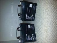 Ultra Max Golf Trolley Batteries Pair