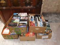 5 boxes of paper back books reduced price