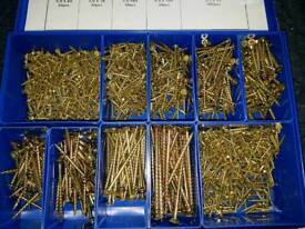Professional screws in a metal case 1600 pcs