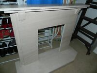 Granite art deco fire surround , fireplace REDUCED REDUCED REDUCED