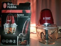 Russel Hobbs 'Rosso mini chopper' food processor