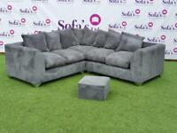 Brand new jumbo cord 2corner2 sofa sets🔥🔥🔥