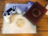 PS4 limited edition Destiny Console - 2TB