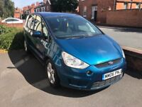 Ford smax 7 seater people carrier titanium 2.0 Tdci 11 month mot starting issue