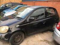 Toyota Yaris 2001-2004 diesel breaking parts spares