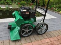 BILLY GOAT LAWN AND LEAF VACUUM SELF PROPELLED PETROL