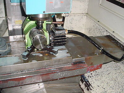 Yuasa 5c Cnc Precision Programmable Indexer Cpnc-100 Control Thread Spindle Haas