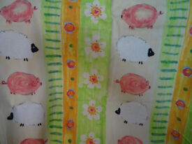 La Pig Design Childrens Curtains & Bedding Set