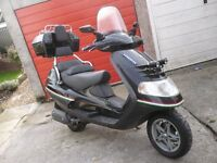Piaggio Super Hexagon Touring Scooter 180cc