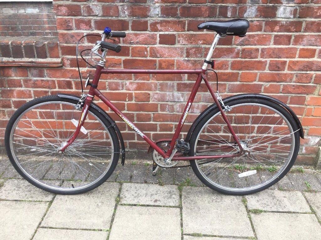 Large vintage single speed bicycle