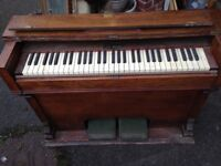 Charming shabby chic cottage pedal Organ