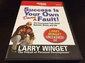 Larry Winget - Success Is Your Own Damn Fault - 6CDs/CD-Rom/DVD