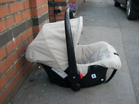 Baby car carrier seat