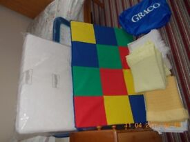 Graco childs travel cot