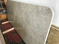 Kashmir White granite worktop / island