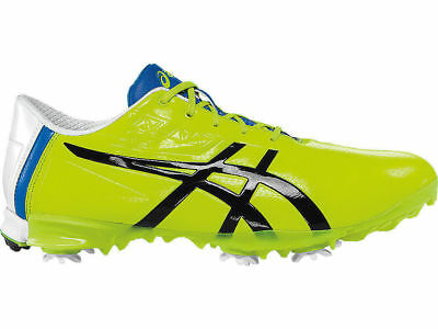 New Asics P526Y-0790 Gel Ace Pro Light Yellow Men's Golf Shoes Size 10.5 US Wide